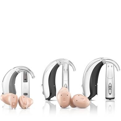 Widex unique hearing aid family